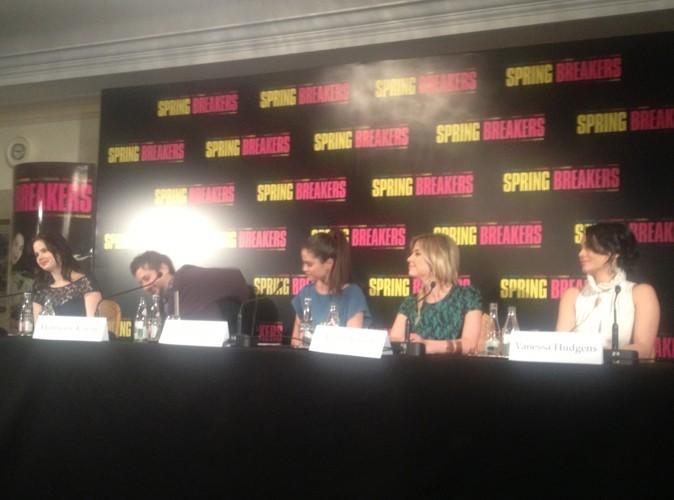 Exclu Public : V. Hudgens, S. Gomez, A. Benson et R. Korine : tout sur la conférence de presse des quatre actrices de Spring Breakers !