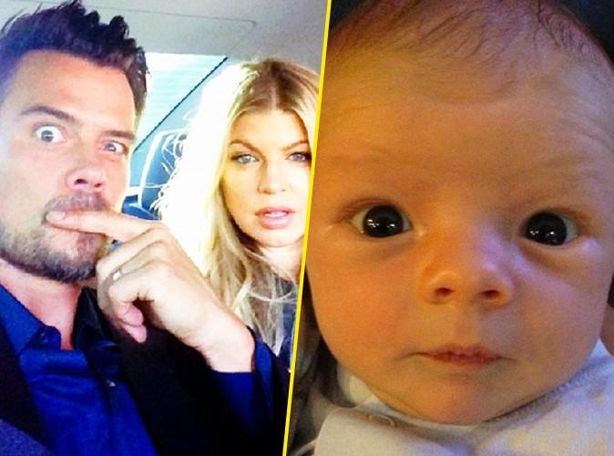 Fergie : zoom sur le visage de son bébé !