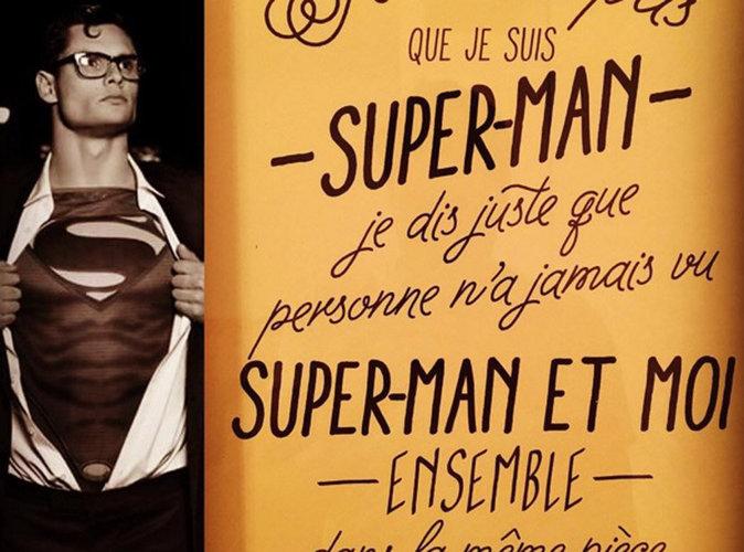 Florent Manaudou se prend pour… Superman !