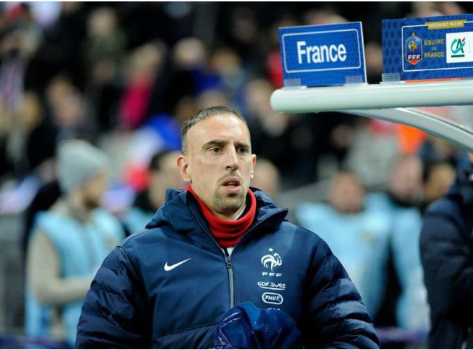"""Franck Ribéry n'a """"plus aucune envie de jouer pour la France"""" !"""
