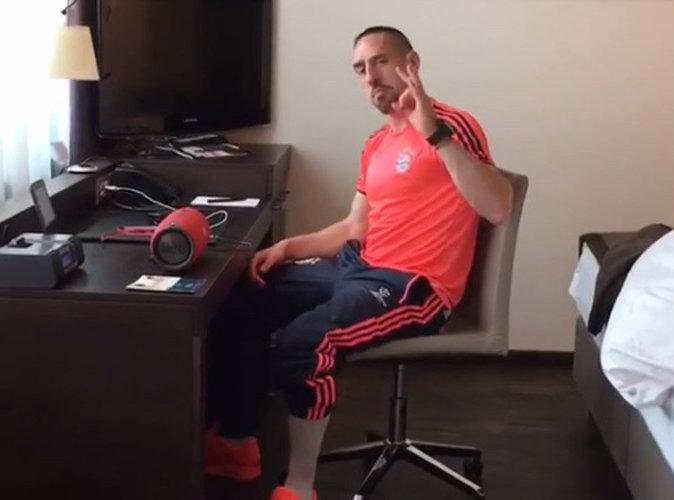 Franck Ribéry valide le nouveau son de Maitre Gims