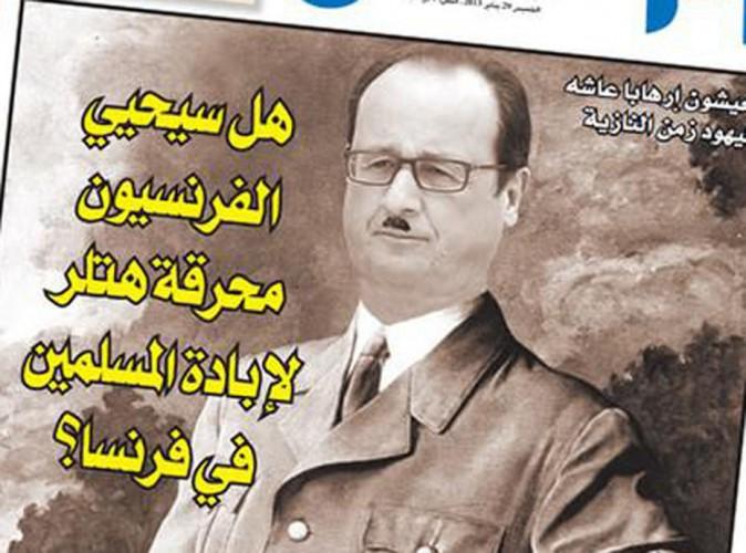 François Hollande : comparé à Hitler par un journal marocain !