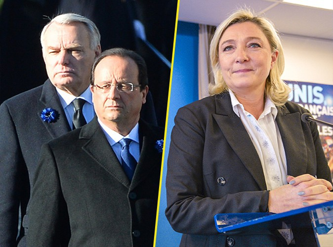 """François Hollande et Julie Gayet : Jean-Marc Ayrault et Marine Le Pen appellent au """"respect de la vie privée"""" !"""