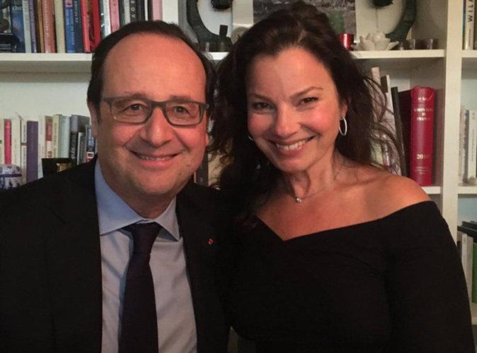 François Hollande sous le charme d'une célèbre actrice américaine...