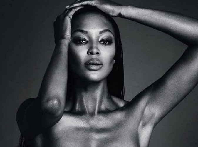 #FreeTheNipple : Naomi Campbell rejoint la cause et pose seins nus à son tour !