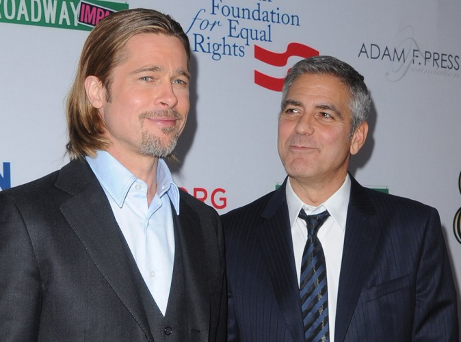 Vidéo : George Clooney a bien failli envoyer Brad Pitt derrière les barreaux !