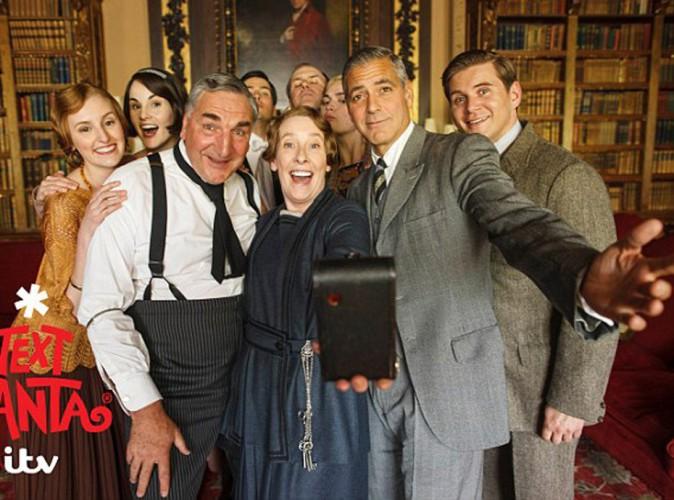 George Clooney : découvrez son tout premier selfie !