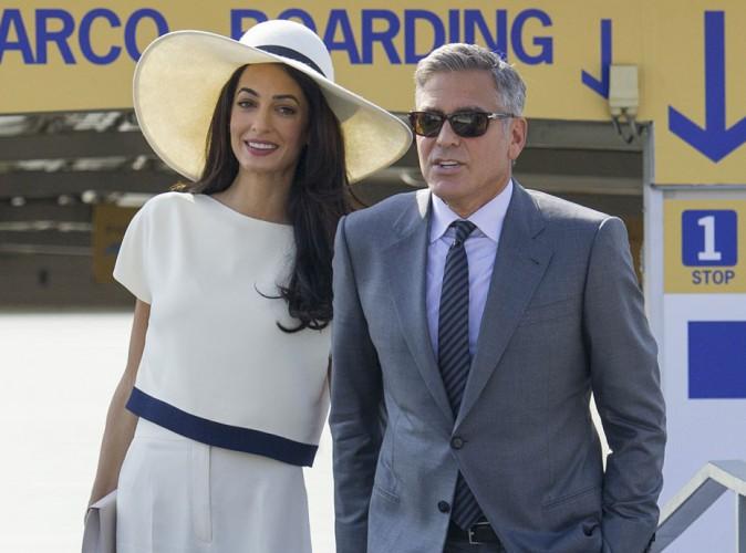 George Clooney et Amal Alamuddin : déjà un bébé en route ? Ils répondent !