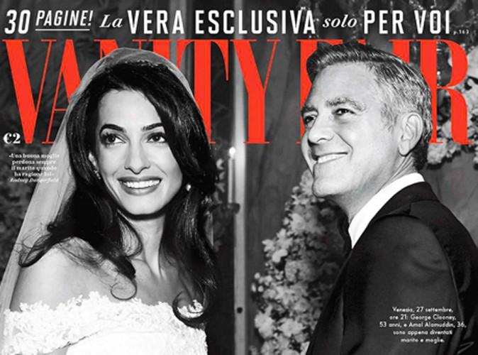 George Clooney et Amal Alamuddin : les nouvelles photos de leur mariage !
