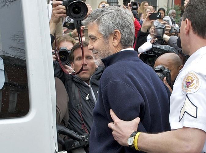 George Clooney : il s'est fait arrêter ! (réactualisé)
