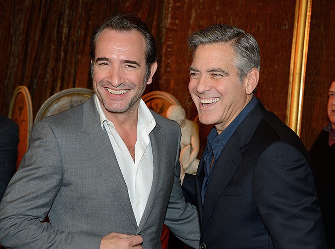 "George Clooney : ""Jean Dujardin m'a fait hurler de rire !"""