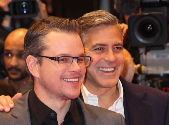 George Clooney : pour son mariage il préfère Matt Damon à Brad Pitt comme témoin !