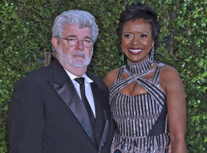 """George Lucas : le papa de """"La Guerre des étoiles"""" s'est fiancé !"""