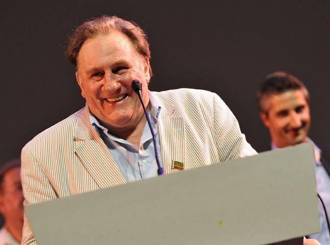 Gérard Depardieu : il pète encore un plomb et traite une journaliste russe de salope !