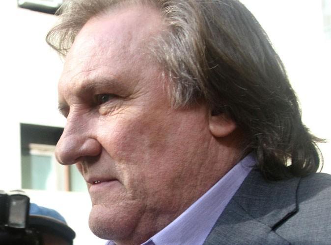 Gérard Depardieu : victime d'un accident de scooter !
