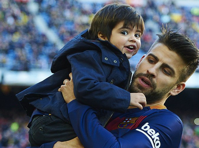 Gerard Piqu� : Son fils Milan pr�t � lui briser le coeur ?