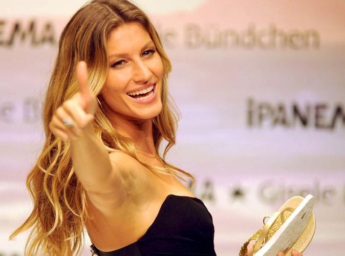 Gisele Bündchen mieux payée qu'Heidi Klum et Kate Moss en 2010 !