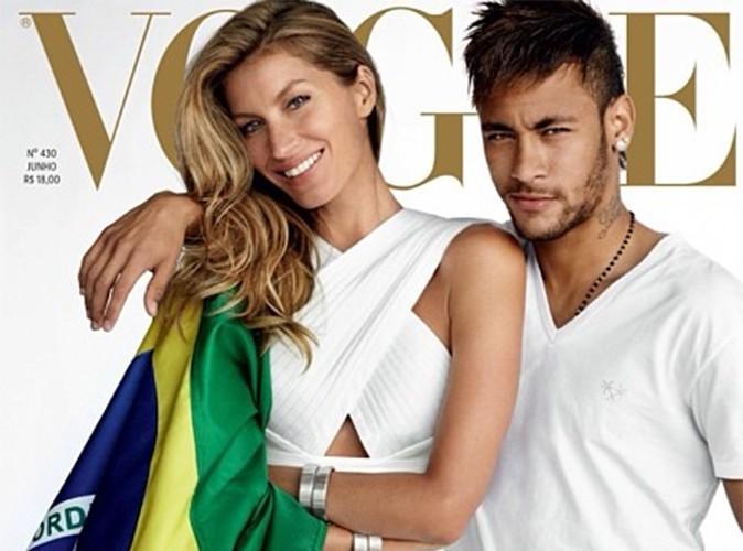 Gisele Bündchen : sa cover du Vogue Brésil avec Neymar (enfin) dévoilée !