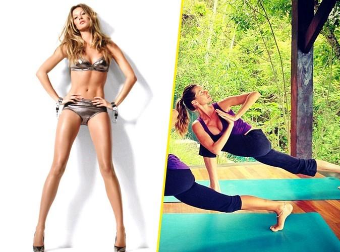 Gisele Bündchen : une véritable pro du yoga !