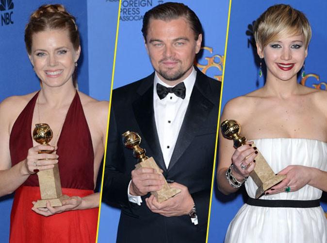 Golden Globes 2014 : Amy Adams, Leonardo DiCaprio, Jennifer Lawrence... Découvrez le palmarès complet !