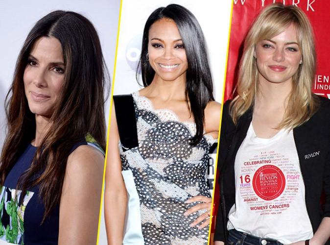 Golden Globes 2014 : Sandra Bullock, Zoe Saldana et Emma Stone joueront les présentatrices lors de la cérémonie !