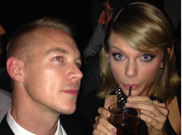 Grammy Awards 2015 : Taylor Swift : avec Diplo, la guerre est aussi finie !