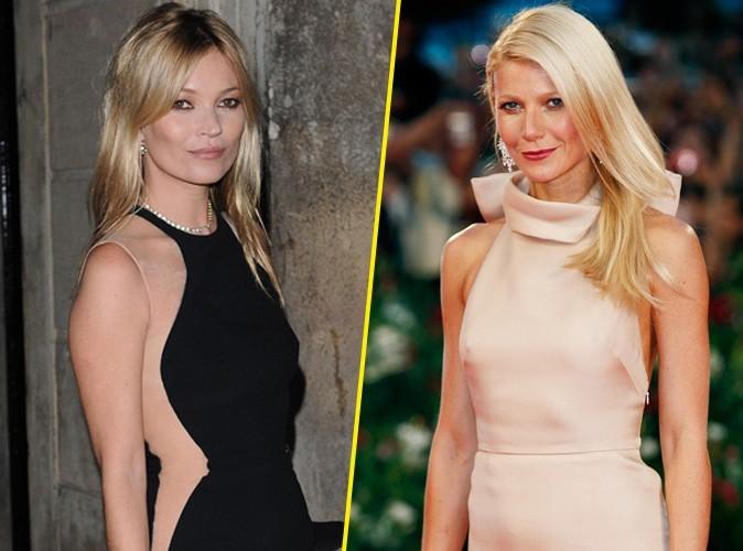Gwyneth Paltrow et Kate Moss en embrouille ? L'actrice américaine dément... Mais les témoins insistent !