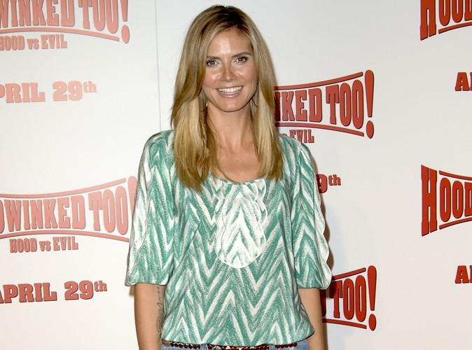 Heidi Klum : elle est même prête à se mettre nue pour de la pub !