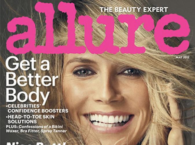 Heidi Klum : entièrement nue dans le nouveau numéro d'Allure !
