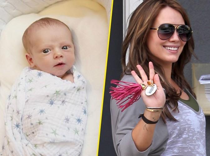 Hilary Duff : elle finit par dévoiler le visage de son adorable fils Luca !