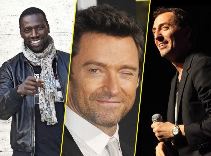 Hugh Jackman : ses acteurs préférés ? Gad Elmaleh et Omar Sy !