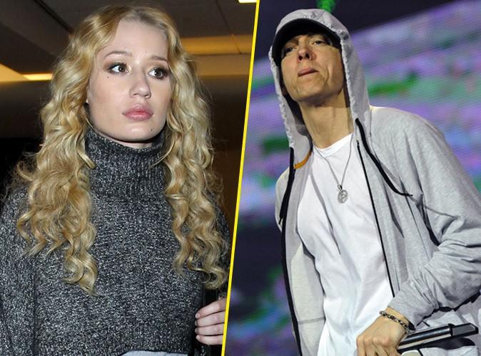 "Iggy Azalea : Eminem menace de la violer ? Elle le traite de ""vieillard"" !"