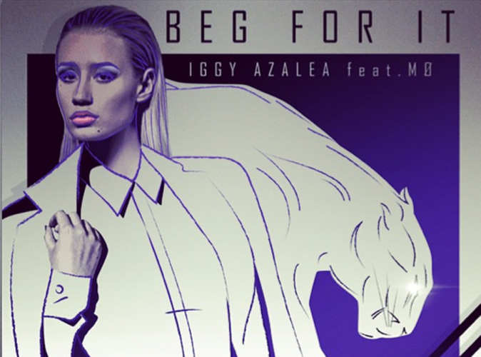 Iggy Azalea : féline sur la pochette de son single Beg for it !