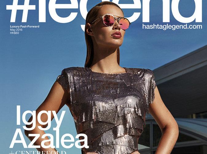 Iggy Azalea scintillante en couverture de #Legend
