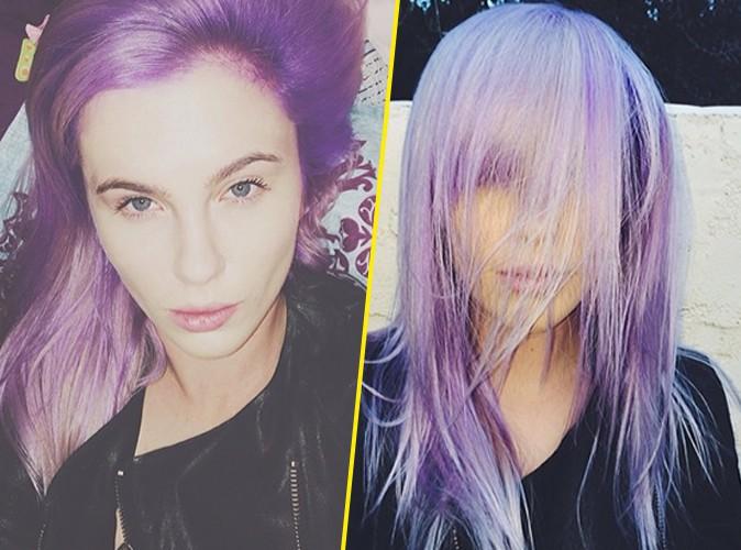Ireland Baldwin : comme Nicole Richie, elle passe au violet !