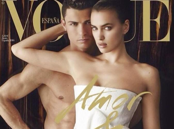 Irina Shayk : hot en Une de Vogue avec Cristiano Ronaldo complètement nu !