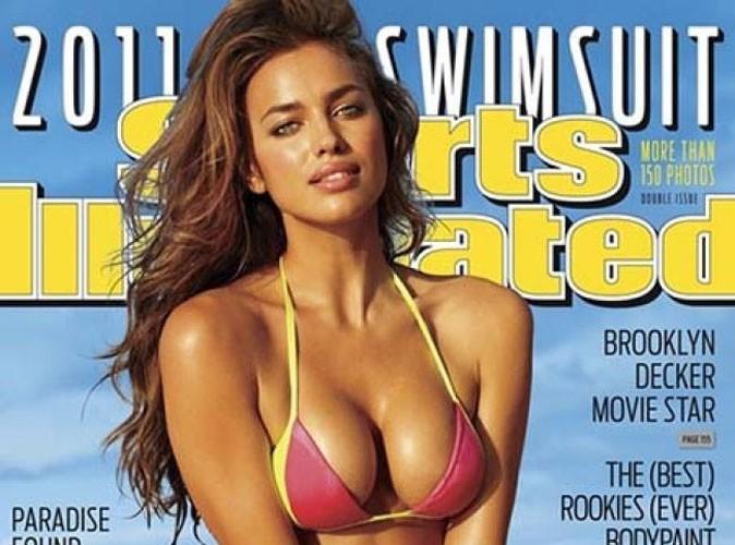 Irina Shayk : la copine de Cristiano Ronaldo affiche sa plastique de rêve en une du magazine Sports Illustrated