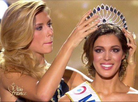 Iris Mittenaere a été élue Miss France 2016 !