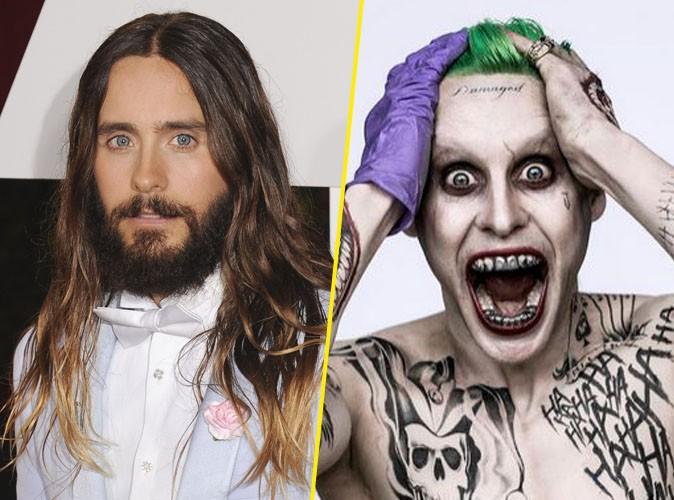 Jared Leto : méconnaissable sur la photo officielle du Joker !