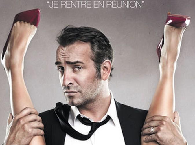 """Jean Dujardin répond à la polémique des affiches d'Infidèles : """"Tout ça, c'est fait pour rire"""" !"""