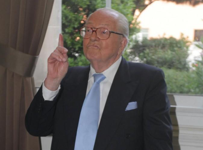 """Jean-Marie Le Pen : il se défend : """"Je ne savais pas que Patrick Bruel était juif"""" !"""