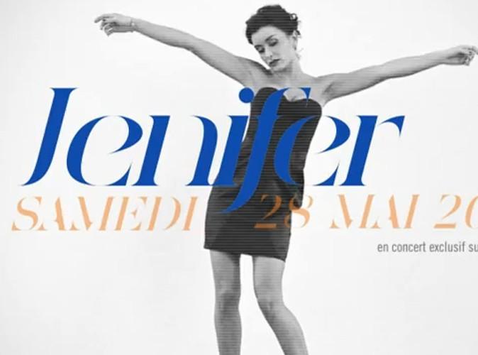 Jenifer en concert gratuit…sur Internet !