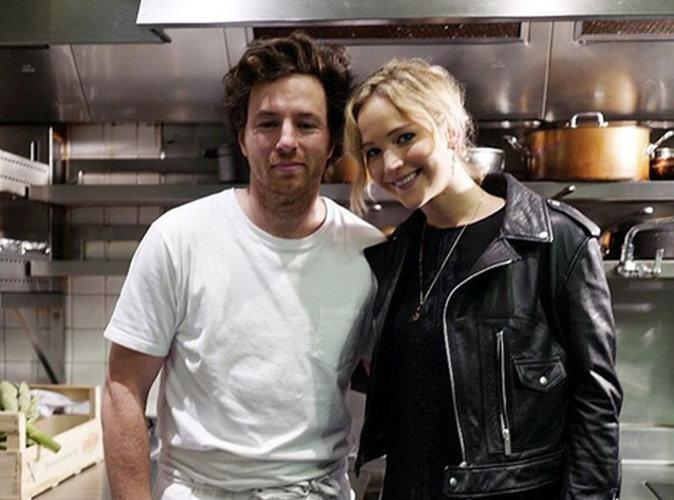 Jennifer Lawrence sous le charme d'un... chef cuisinier français !