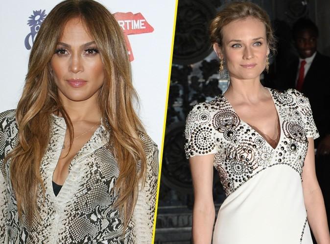 Jennifer Lopez et Diane Kruger : des fourrures qui ne plaisent pas à la PETA !