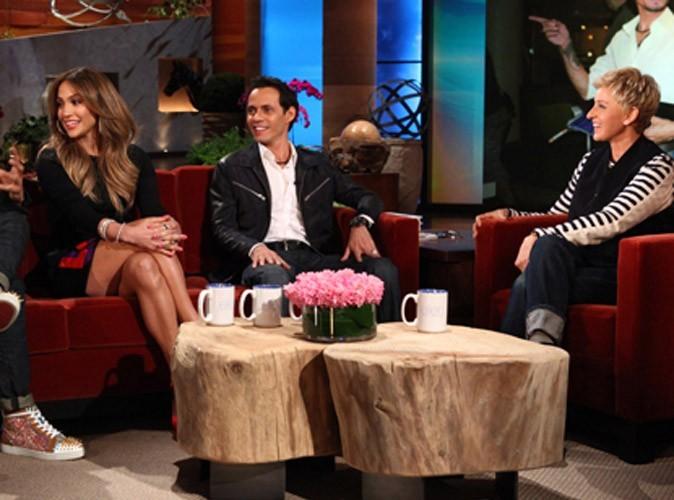 Jennifer Lopez et Marc Anthony : ils jouent la carte de l'unité chez Ellen DeGeneres !