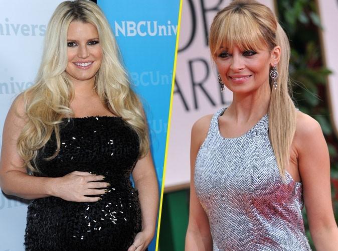 Jessica Simpson : en attendant sa fille... Nicole Richie lui offre ses enfants !