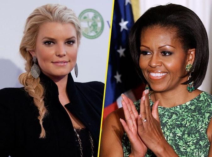 Jessica Simpson en route vers le front... à la demande de Michelle Obama !