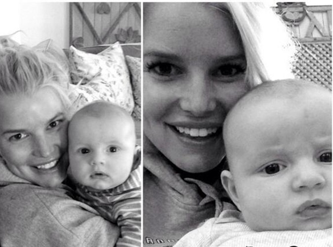 Jessica Simpson : heureuse et radieuse, elle nous offre une nouvelle photo de son fils Ace !