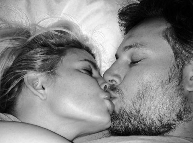 Jessica Simpson : un beau baiser pour souhaiter bonne nuit !