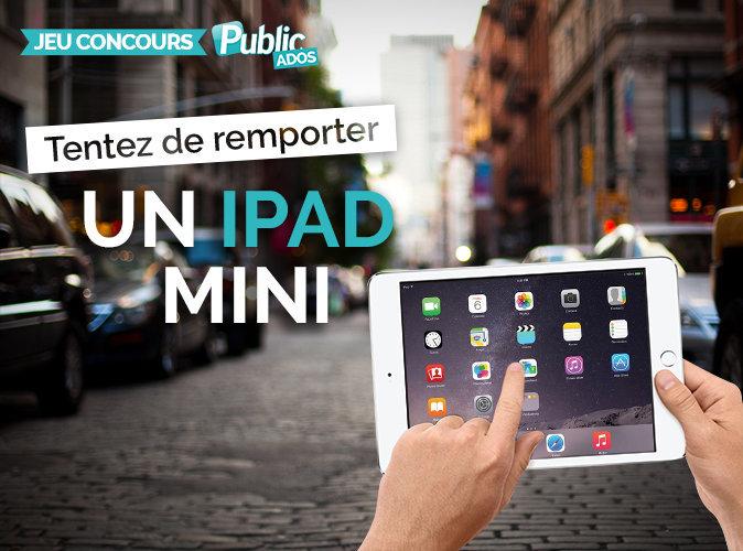 Jeu concours : tentez de remporter un iPad mini 4 !